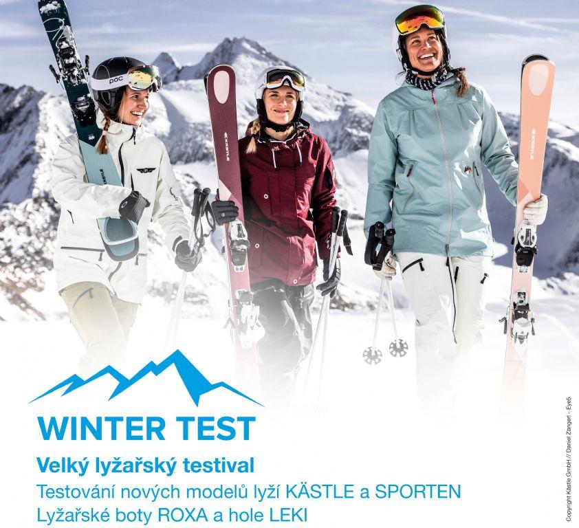 25. - 26. 1. 2020 Lyžařský festival Wintertest 2020